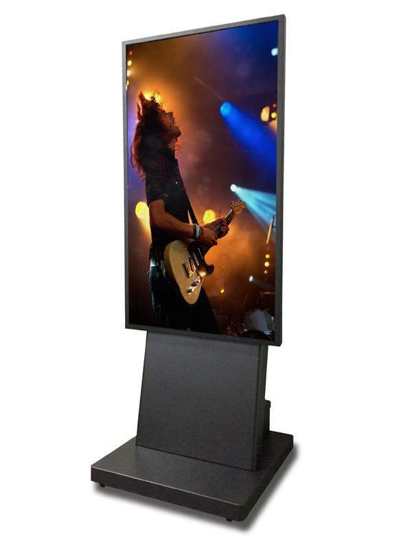デジタルサイネージ 電子看板 D-SMART 55型スタンド式 700cdモニター屋内用