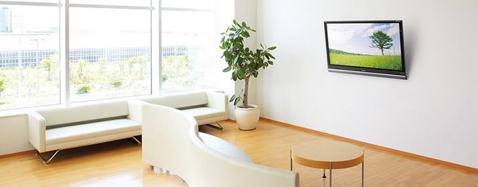デジタルサイネージ アパレルホワイト32V 屋内用 壁掛け金具パッケージ